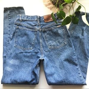 VTG Lawman Womans High Waist Tapers Jeans
